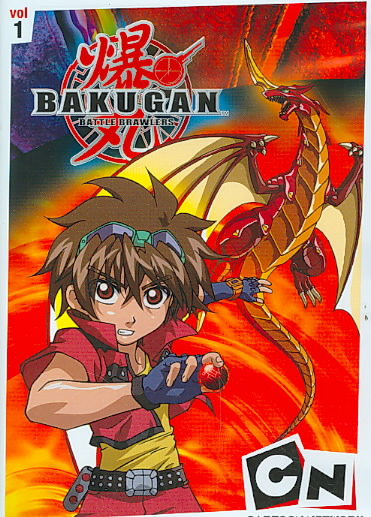 BAKUGAN VOLUME 1:BATTLE BRAWLERS BY BAKUGAN (DVD)